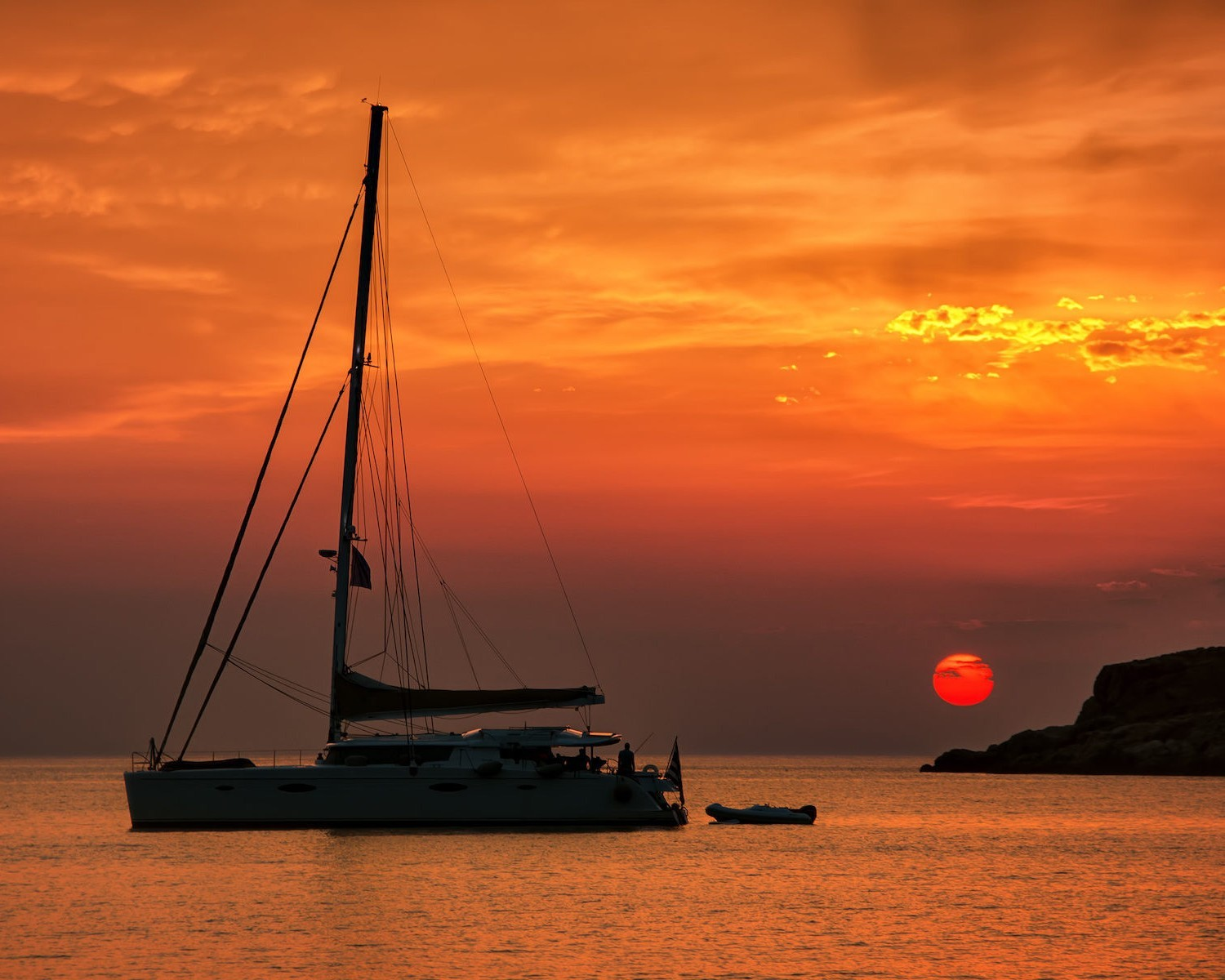 Sunset Sailing Cruises in Vieques, Puerto Rico