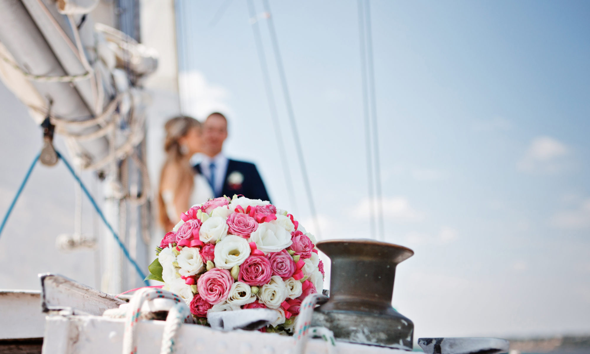 Shipboard weddings are very romantic